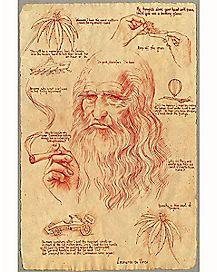 Leonardo DaVinci Poster