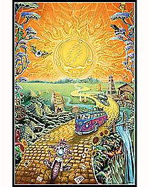 Golden Road Grateful Dead Poster