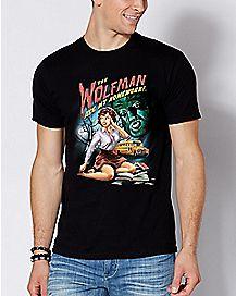 Wolfman T Shirt - Steven Rhodes