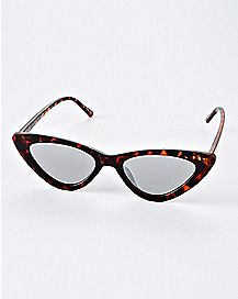 Slim Cat Eye Sunglasses