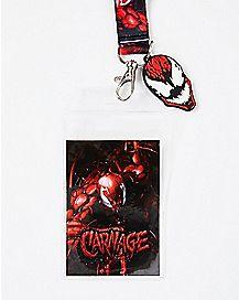 Carnage Lanyard - Marvel