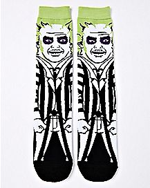 Beetlejuice Crew Socks