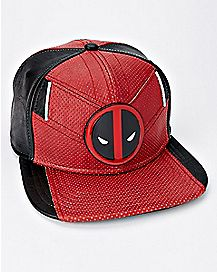 Suit Up Deadpool Snapback Hat - Marvel