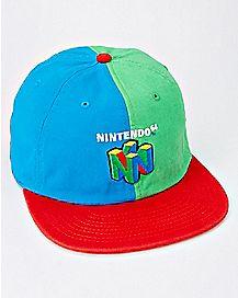 Retro Nintendo 64 Camper Hat