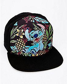 Tropical Stitch Snapback Hat - Disney