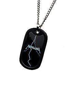Metallica Dog Tag Necklace