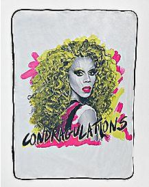 Condragulations RuPaul Fleece Blanket