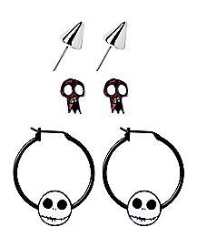 The Nightmare Before Christmas Earrings 3 Pack - Disney