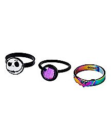 The Nightmare Before Christmas Rings 3 Pack - Disney