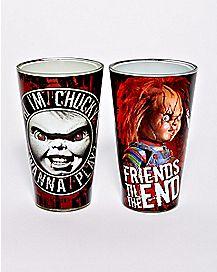 Chucky Pint Glasses 2 Pack - 16 oz.