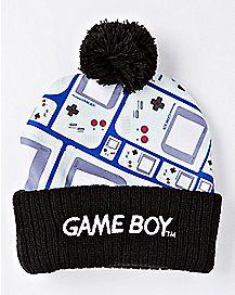 Pom Gameboy Beanie Hat - Nintendo