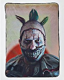 Twisty The Clown Fleece Blanket - American Horror Story