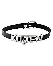 Bell Kitten Choker Necklace