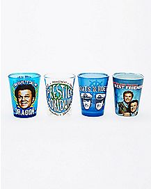 Step Brothers Shot Glasses 4 Pack - 1.5 oz.