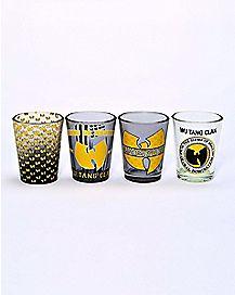 Wu-Tang Clan Shot Glasses 4 Pack - 1.5 oz.