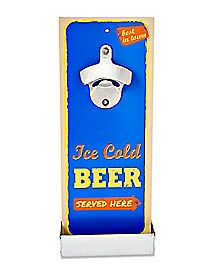 Ice Cold Beer Wall Bottle Opener