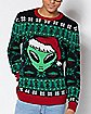 Light-Up Alien Ugly Christmas Sweater