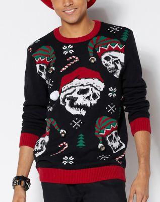 Jack Skellington Ugly Christmas Sweater The Nightmare Before