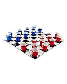 Checker Shots Drinking Game