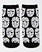 Friday The 13th No Show Socks - 5 Pair
