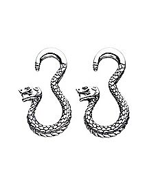 Snake Spiral Ear Tapers