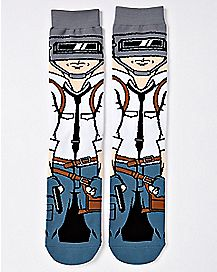 Welder Man Crew Socks - PUBG