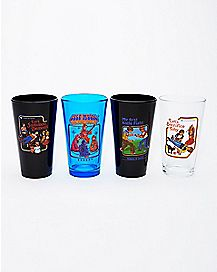 Steven Rhodes Pint Glasses 4 Pack - 16 oz.