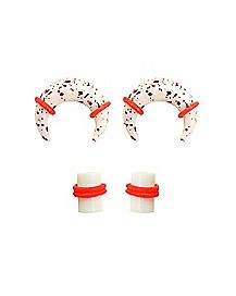 Multi-Pack Blood Splatter Pinchers and Plugs - 2 Pair