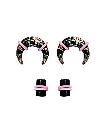 Multi-Pack Floral Pinchers and Plugs - 2 Pair
