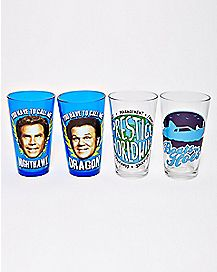 Step Brothers Pint Glasses 4 Pack - 16 oz.
