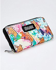 Watercolor Scooby Doo Zip Wallet