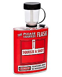 Please Squeeze Flask - 12 oz.