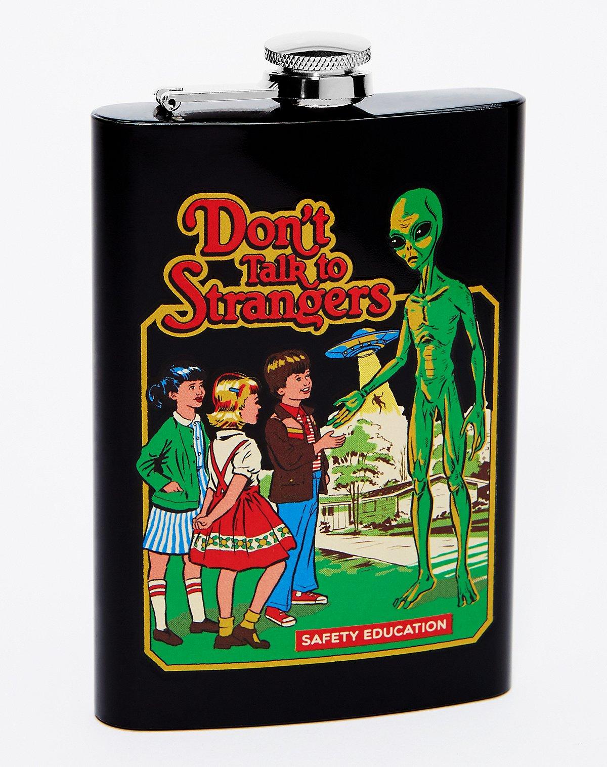 steven rhodes don't talk to strangers alien flask