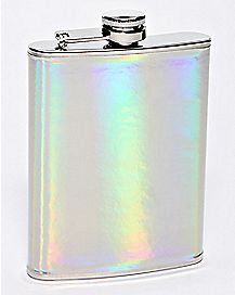 Iridescent Flask - 8 oz.