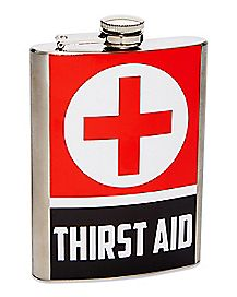Thirst Aid Flask - 8 oz.