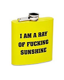 Ray of Fucking Sunshine Flask - 6 oz.