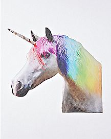 Ride With A Unicorn Car Decal