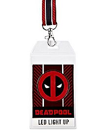 LED Deadpool Lanyard - Marvel