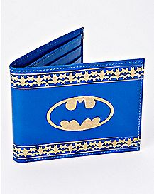 Etched Leather Batman Bifold Wallet - DC Comics