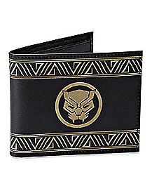 Etched Leather Black Panther Wallet - Marvel