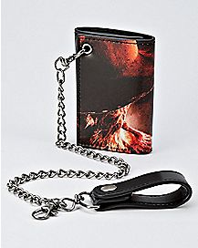 Freddy Krueger Chain Wallet - A Nightmare On Elm Street