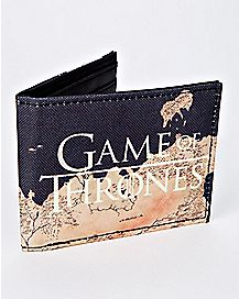 Map Game Of Thrones Bifold Wallet