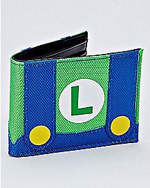Luigi Bifold Wallet - Super Mario Bros.