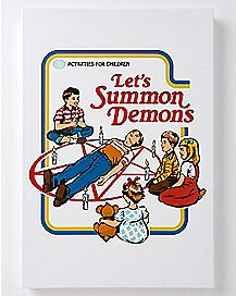 Let's Summon Demons Wall Art - Steven Rhodes