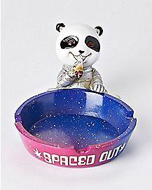 Galaxy Spaced Out Panda Ashtray