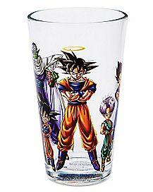 Saiyan Pint Glass 16 oz. - Dragon Ball Z