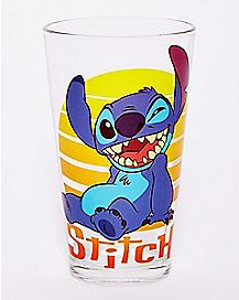 Ohana Means Family Stitch Pint Glass - 16 oz.