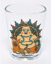 Sitting Buddha Shot Glass - 1.5 oz.