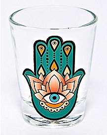 Hamsa Hand Shot Glass - 1.5 oz.
