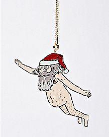 Santa Ruben Ornament - Rick and Morty